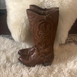 Ariat sz 8 knee high cowgirl boots